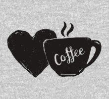 Love Coffee Kids Tee