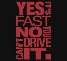 Yes it's fast No you can't drive it (1) by PlanDesigner