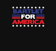 Bartlet for America president 2016 elections funny t-shirt Unisex T-Shirt