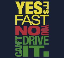 Yes it's fast No you can't drive it (2) by PlanDesigner