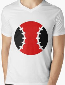 Tennis Ball Mens V-Neck T-Shirt