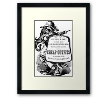 Cheap Outfits Framed Print