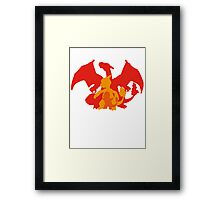 Start with... FIRE! Framed Print