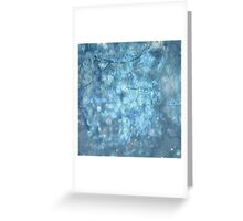 MYSTICAL BLUE WINTER Greeting Card