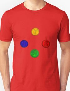 x box buttons Unisex T-Shirt