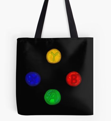 x box buttons Tote Bag