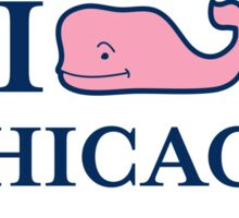 Vineyard Vines Chicago Sticker