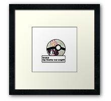 BTS Pokemon - Rap Monster Framed Print