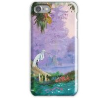 White Crane iPhone Case/Skin