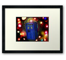 WALKING IN INFINITY Framed Print