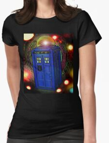 WALKING IN INFINITY Womens Fitted T-Shirt