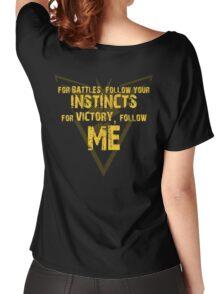 """Team Instinct - """"Follow Me"""" Women's Relaxed Fit T-Shirt"""