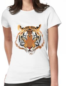 Tiger 578 Womens Fitted T-Shirt