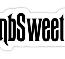 Tomb Sweet Tomb Hashtag Sticker