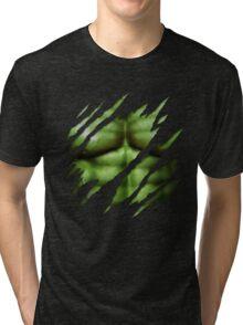 The Expanding Hulk Tri-blend T-Shirt