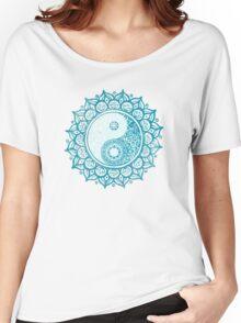 Yin-Yang Mandala Women's Relaxed Fit T-Shirt