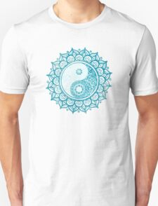 Yin-Yang Mandala Unisex T-Shirt