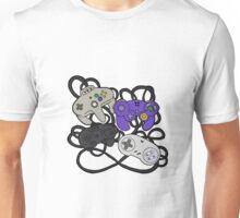 Old School Game Controllers  Unisex T-Shirt