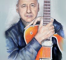 Mark Knopfler by MelannieD