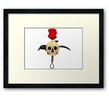 Mortal thoughts Framed Print