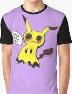 Mimikyu is trying his best, Okay? Graphic T-Shirt
