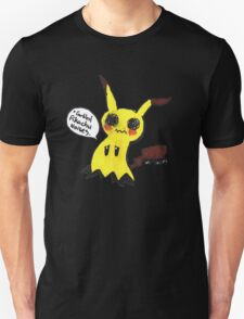 Mimikyu is trying his best, Okay? Unisex T-Shirt