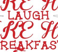Make Her Laugh Make Her Breakfast Sticker
