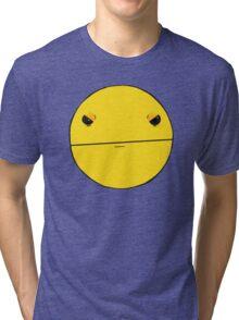 Angry Pac-Man Tri-blend T-Shirt