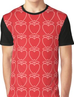 MCM Apples Pink & Red Graphic T-Shirt