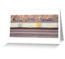 Ion Ores Train - Karratha Greeting Card