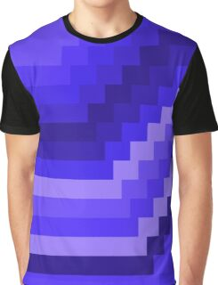 8-Bit Deep Purple Unique Design Graphic T-Shirt