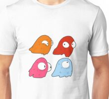 Inky, Blinky, Pinky, and Clyde Unisex T-Shirt