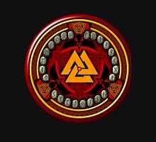Norse/Viking Rune Set in Red Unisex T-Shirt
