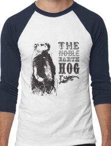 The Noble Earth Hog Men's Baseball ¾ T-Shirt