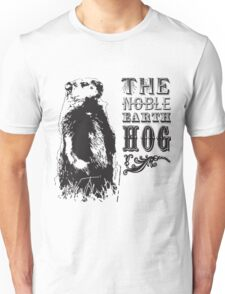 The Noble Earth Hog Unisex T-Shirt