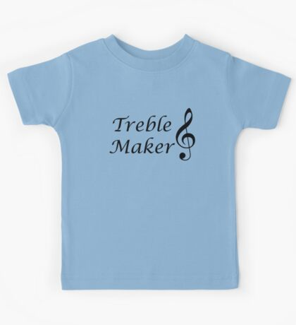 Funny Music Design Kids Tee