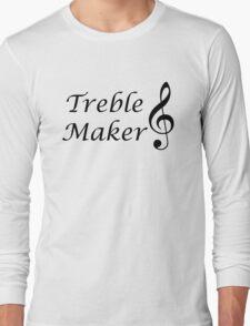 Funny Music Design Long Sleeve T-Shirt