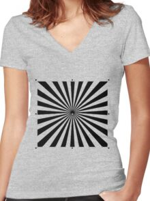 The Sun Women's Fitted V-Neck T-Shirt