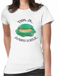 Bring Me The Horizon Sandpit Turtle Womens Fitted T-Shirt