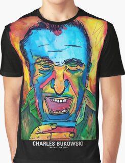 CHARLES BUKOWSKI Graphic T-Shirt