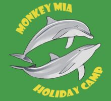 Monkey Mia Holiday Camp Kids Tee