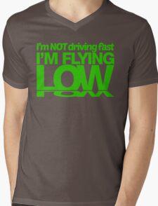 I'm not driving fast – I'm flying low (6) Mens V-Neck T-Shirt