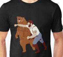 Man Punching Bear  Unisex T-Shirt
