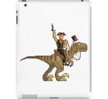 Gentleman Dinosaur Duelist #1 iPad Case/Skin