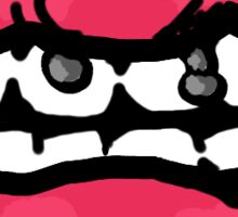 Pink Lips Sticker