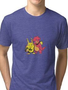 Magby and Elekid Tri-blend T-Shirt