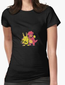 Magby and Elekid Womens Fitted T-Shirt