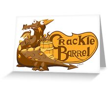 Crackle Barrel Greeting Card