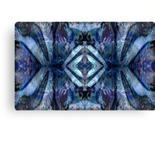 Blue Spinel Canvas Print