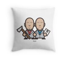 Breaking Bad Icon Set - MARCO&LIONEL Throw Pillow